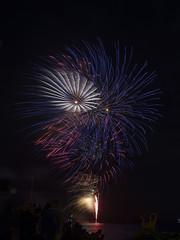 NYE Fireworks Nelson Bay 2017 (vk2gwk - Henk T) Tags: fireworks pyrotechnics newyearseve nelsonbay portstephens nsw australia 2017