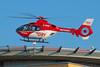 Göttinger Luftretter landen auf Klinikdach (Foto Stefanie Buder) (DRF Luftrettung) Tags: hubschrauber stationgöttingen luftrettung drfluftrettung christoph christoph44 ec135