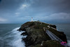 South Stack Lighthouse (AC Photography 828) Tags: nikon nikond750 nikon1635mm manfrotto landscape northwalesphotographer northwales wales water waves crashing anglesey island lighthouse longexposure seaside sea waterfront cliffs outdoor storm