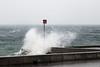 Baignade interdite ! (MarKus Fotos) Tags: landscape léman leman lac lake storm sturm tempete vent vagues vague rivage hautesavoie evian eau