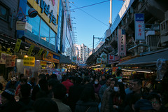 Year-end of Ameya-Yokochō (Ogiyoshisan) Tags: japan japanese 日本 東京 tokyo market ueno shopping shop december