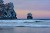 Between the rocks, Morro Bay_ (Basak Prince Photography) Tags: pch centralcoast clouds cloudssky coast diffusedlight dreamlike longexposure morninglight morrobay oilpaintinglike paintescapes softlight sunrise sunsetpoint