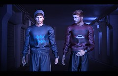 New at the Men's Department for December (ajarabello) Tags: anasposes belleza caboodle catwa christmas deadwool lelutka malefashion menswear mensdept secondlife stealthic straydog taikou