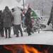 Eerste sneeuw Vaassen 2017