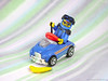 Pedal Driver (Unijob Lindo) Tags: lego leg godt hot wheels hotwheels minifig minifigure fig figure pedal driver 2017 blue banana car toy toys race ed roth shift gear deeneedee racing kart mario big daddy goggles mattel photo stripes blur fast peel