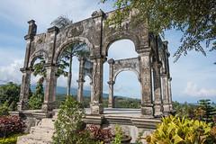 balinese temple (alain01789) Tags: column palace arch temple bali indonesia ujung taman