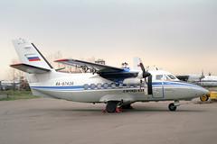 RA-67436 LET L-410UVP Turbolet Aeroflot (pslg05896) Tags: bka uubb moscow bykovo ra67436 let l410 turbolet aeroflot
