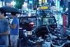 蒼い雨の新宿 1 (Yorozuna Yūri / 萬名 游鯏(ヨロズナ)) Tags: pentaxautotakumar55mmf18 新宿 新宿区 shinjukuward shinjuku 東京都 東京 tokyo japan night nightscape nightview nightshot citylights 夜景 夜 雨 雨天 雨夜 rain rainy rainynight 降雨 乗車 タクシー taxi 車 car 自動車 乗用車 歌舞伎町 kabukicho 新宿東口 city 街 町 都会