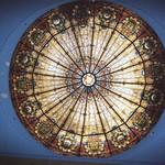 Wilkes-Barre  Pennsylvania  - Irem Temple Mosque - Shriners Headquarters  -  Now Abandon  -  Skylight thumbnail