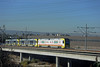 LOS ANGELES--1093 on Pull-In Track to Del Amo Yard (milantram) Tags: electricrailtransport railsystemslosangeles losangeles lacmta blueline streetcars trolleys trams lightrail