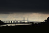 The Bridge (nielstakespictures) Tags: bridge oresund sweden denmark malmo copenhagen sky infrastructure baltic sea dark