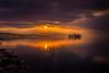 sunset 5110 (junjiaoyama) Tags: japan sunset sky light cloud weather landscape orange purple contrast color bright lake island water nature winter calmness reflection sunburst