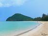 Thung Wua Laen Beach (Zelle Manzano) Tags: beach water shore bay nature travel adventure ocean sea mountain blue sand chumpon thailand landscape sky