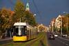 Erfolgsstrecke Invalidenstraße (trainspotter64) Tags: strasenbahn tramway tram tranvia triebwagen berlin bvg bombardier flexity ubahn u55 hauptbahnhof gt808zr