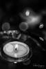 Tealight double exposure (2) (PaulHoo) Tags: nikon d750 abstract macro dof bokeh extension tubes still life doubleexposure multiexposure light illuminated blackandwhite monochrome round