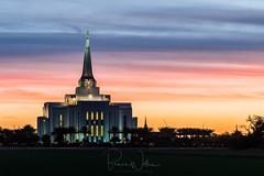 Gilbert AZ Temple (Arizphotodude) Tags: arizona gilbert temple ldstemple mormon sunrise goldenhour dawn architecture nikon religion