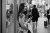 Self Reflection (McLovin 2.0) Tags: candid portrait beauty style street streetphotography reflection shop window urban city sydney australia summer rain blackandwhite monochrome bw sony a7s 85mm bokeh