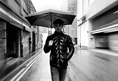 (plot19) Tags: aaron son sony family greatbritain fashion fasion rain love teenager north northern northwest english england britain british blackwhite blackandwhite uk plot19 photography portrait manchester man
