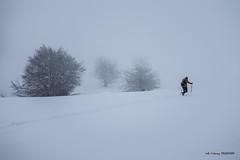 En plena tormenta de nieve (Jabi Artaraz) Tags: jabiartaraz jartaraz egirñao gorbea nieve invierno winter nature