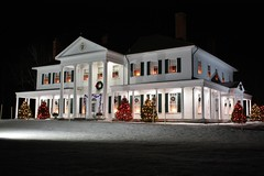 Government House- Charlottetown, PEI (Craigford) Tags: charlottetown pei canada governmenthouse historic building christmas holiday lights decorations fanningbank