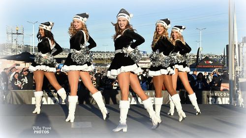2017 Oakland Raiderettes at Raiderville