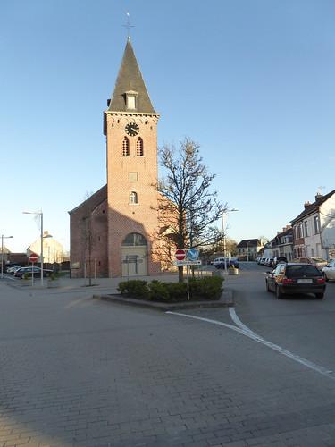 Leers-Nord Église l'église Saint-Vaast