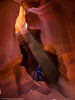 Ray of Sun (Ramona H) Tags: az antelopecanyon arizona canyon slotcanyon pageaz light color