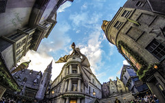 Diagon Alley (The.Mickster) Tags: orlando vacation harrypotter holiday universalstudios