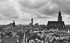 Breslau von oben / Wroclaw from above (Andreas Meese) Tags: breslau wroclaw mai frühling spring day tag wolkig cloudy panorama old new alt neu nikon d5100 dächer top roof dach tower skyscraper verfall zerfall decay hochhäuser wohnhäuser kirche church
