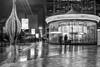 Sortie La Défense by Night (fdusonchet) Tags: la défense paris night nuit carrousel black white nozimages91