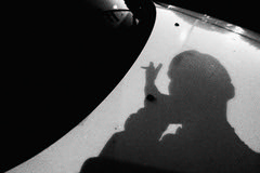 ... (andy961688) Tags: blackandwhitephotography blackandwhite black white bw dark moody grainy gloomy awesome abstract art selfie shadow mobilephotography outofthephone iphoneography iphone iphone4 camera phone cameraphone pointandshoot cool