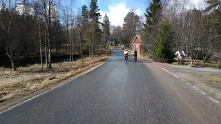 100/200km brevet. Hail, snow, rain, sun: the full package of a Finnish spring!