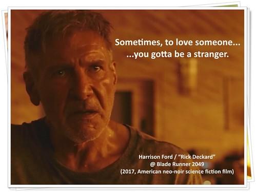 "Harrison Ford @ ""Blade Runner 2049"" (2017, Movie)"