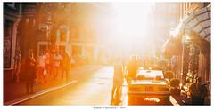 Summer in Amsterdam  | 2015 (DerAblichter) Tags: contrast sunflares flres summer sun light kontrast colors city urban sommer amsterdam sky himmel bright warm people street kunst licht art sunset goldenhour day style