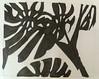 2017.09.04 Tree & Bush (Julia L. Kay) Tags: shadow shadows silhouette juliakay julialkay julia kay artist artista artiste künstler art kunst peinture dessin arte woman female sanfrancisco san francisco daily everyday 365 botanical botany plant foliage splitleaf philodendron splitleafphilodendron sundances ink inks paper brush pen brushpen bw black white monochrome