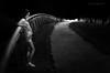 sogno (pamo67) Tags: pamo67 dream ragazza girl bn bianconero street sentiero pathway path bw contrasts contrasti rail ponte people profilo pasqualemozzillo blackwhite