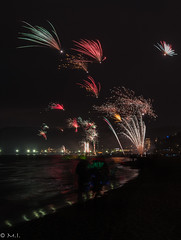 Binz 18:00 Silvester (bildidee@icloud.com) Tags: nikon silvester 2017 binz firework feuerwerk see strand seebrücke