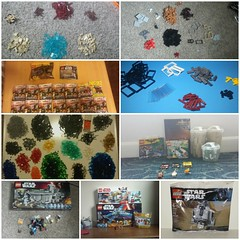 2017 Hauls (Ty S.) Tags: haul hauls lego plastic parts cool awesome toysrus target tru lug firstorder bricklink pab xwing r2d2