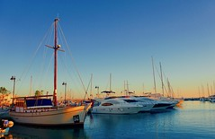 Winter Afternoon - Limassol Marina, Cyprus (Andreas Komodromos) Tags: blue boat bright cypriot cyprus december greek island limassol marina mediterrenean port project sea ship sky water winter yacht sony6000 travel vacation photography seascape scenic mediterranean europe allfreepicturesmarch2018challenge platinumheartaward reflection sunlight sunset landscape flickrtravelaward
