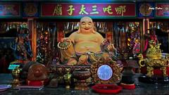 Laughing and Smiling Buddha..... (Jinky Dabon) Tags: kodakeasysharem530 buddhism laughingbuddha smilingbuddha chinesebuddha temple religion buddhist buddha