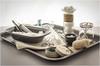 (MEDICAL) NURSE'S TRAY (Aliy) Tags: medical tray medecine tablets tweezers scissors bandage pills cottonwool stilllife