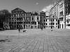 Hidden Venice n. 13 (Franco & Lia) Tags: venezia venice veneto street fotografiadistrada photographiederue biancoenero blackandwhite noiretblanc camposanpolo