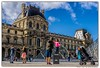 strike a pose.. (Gordon McCallum) Tags: thelouvre louvremuseum pyramidedulouvre napoleoncourt tourists touristattraction sony sonya6000 sigma30mm114contemporarylens paris