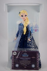 2017 Elsa Limited Edition 17 Inch Doll - Olaf's Frozen Adventure - Disney Store Purchase - Covers Off - With Certificate of Authenticity - Full Front View (drj1828) Tags: disneystore limitededition doll 17inch frozen olafsfrozenadventure collectible 2017 elsa boxed purchase certificateofauthenticity
