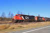 Slow down I wanna... (GLC 392) Tags: pace pacing emd sd40t2 tunnel motor sd403 ic dmir duluth missage iron range hwy highway 7 6252 6261 illinois central zim mn minnesota searh light signal kennan forbes ore 402