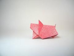 Cerdito - Javíer Caboblanco (Rui.Roda) Tags: origami papiroflexia papierfalten cochon cerdo porco pig porcelet leitão cerdito piggy