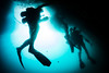 Navy Divers conduct an underwater pier survey in Apra Harbor. (Official U.S. Navy Imagery) Tags: usn uct2 combatcamera underwaterphotography military specialoperations scuba km37 deepseadiving seabees santarita guam gu