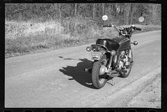 SSD-1987 FREEDOM (MISCONCEPTION PHOTO) Tags: old vintage honda gl1000 1975 motorcycle road trees michigan freedom