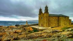 Nuestra Señora de la Barca, Muxia (The Happy Traveller) Tags: galicia muxia spain europeancity europe coastallandscapes sceniccoasts sanctuaries stormyweather nwn