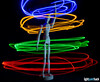 Swinging an LED String (inlina) Tags: lightpainting lightpainthackcom longexposure led rgb rgby low light slowshutter ikea mannequin olympus omd em10 livecomp
